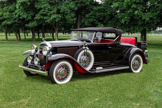 1931 Buick Phaeton Sport Roadster, Buick, retro, classic