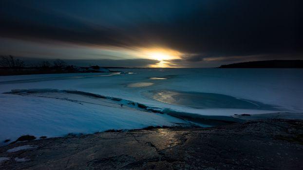Зимний вечер (16:9)
