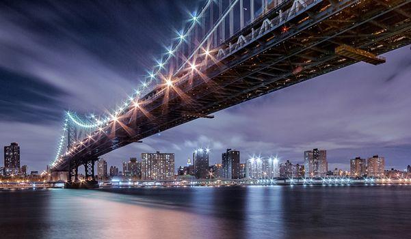 Нью-Йорк, Манхэттенский мост, архитектура