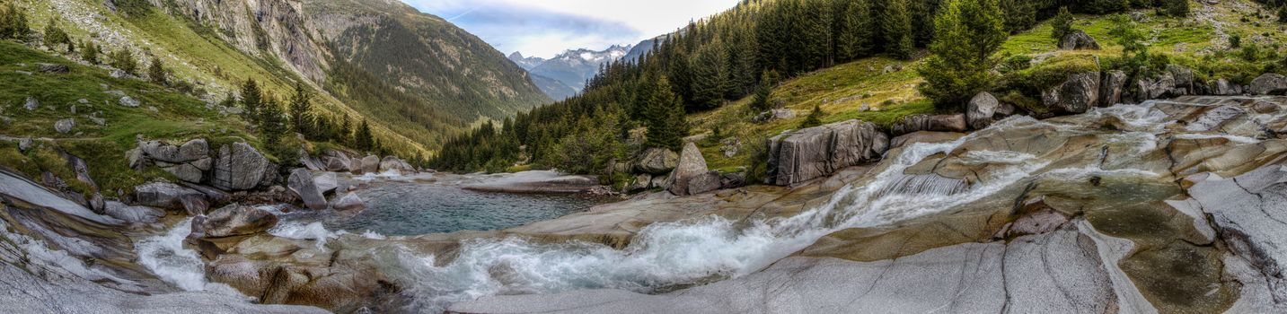 Val Sumvitg, Sumvitg valley, Graubünden, Switzerland, Alps, sumvitg valley, Grisons, Switzerland, Alps, River, valley, the mountains, view