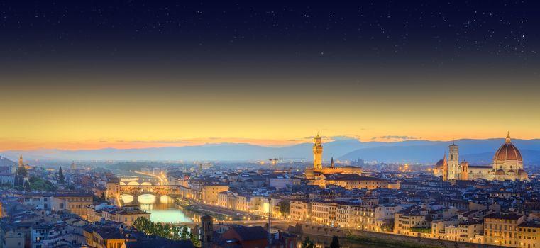 view, night city