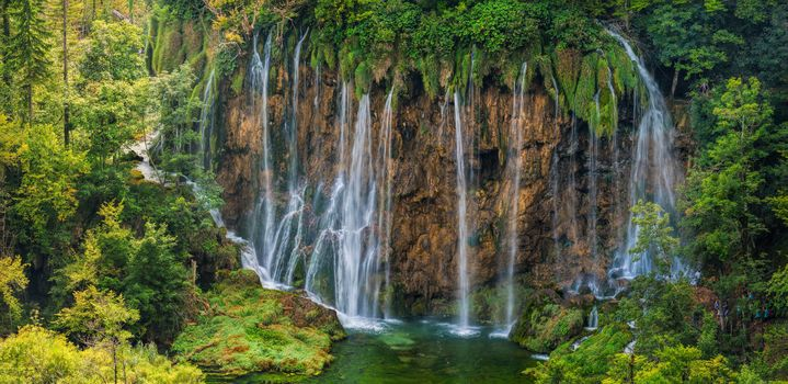 Plitvice Lakes National Park, Galovac Waterfall, Croatia, Plitvice, Galovachki Falls, Croatia, waterfall, River, forest