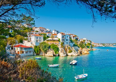 Skiathos, Greece, Skiathos - the island in the Aegean Sea