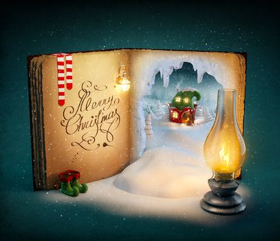 new Year, Christmas background, New year wallpapers, Happy New Year, New Graphics, good New Year spirit, book, lamp