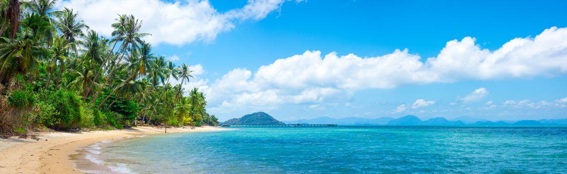остров, море, океан, берег, пляж, пальмы, пейзаж, карибский