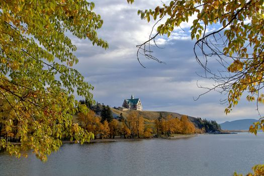 Prince of Wales Hotel, Waterton National Park, autumn