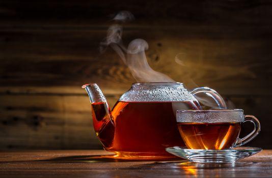 tea, Cup, kettle