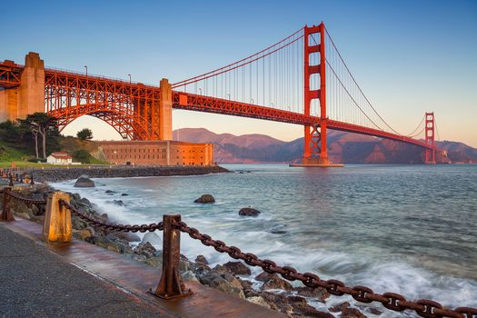 Golden Gate Bridge in San Francisco, Golden Gate Bridge, San Francisco