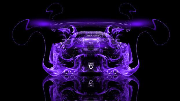 Фиолетовое пламя. Задок (16:9)