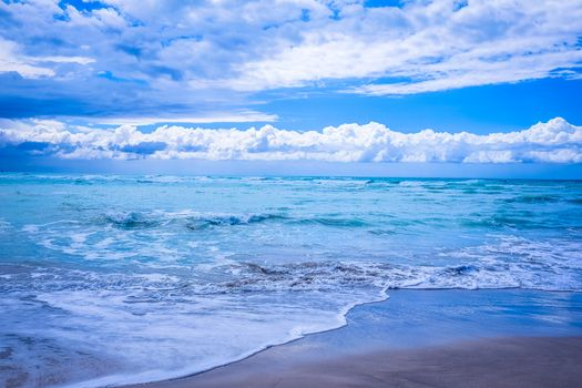 sea, Coast, waves, beach