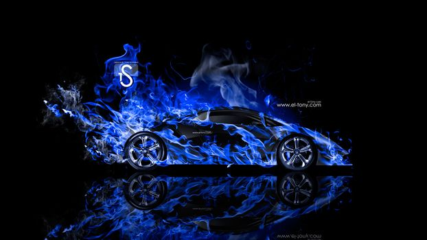 Синее пламя. Профиль-2 (16:9)