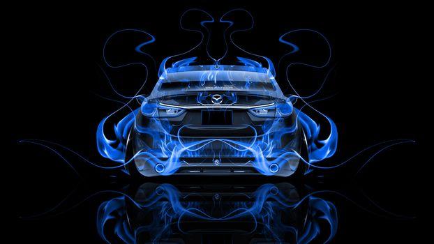 Синее пламя. Задок-2 (16:9)