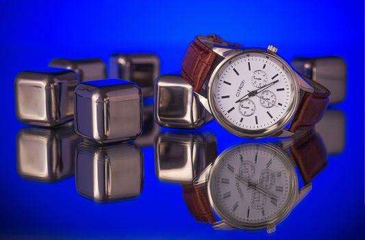 Wrist Watch, Lemon, time