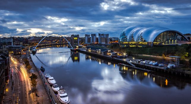 Newcastle upon Tyne, England, city