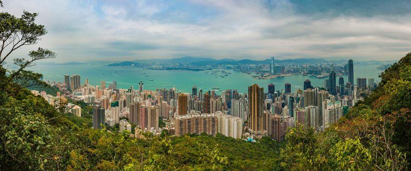 Гонконг, Гонконг, Китай, город, вид