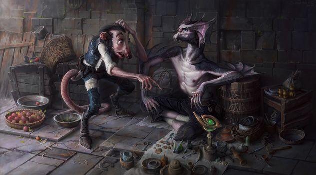 Fiction, creatures, monsters