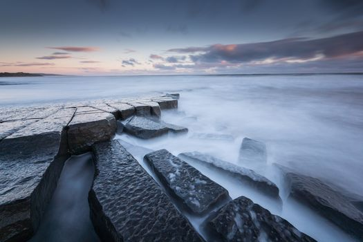seascape, North Sea, Derbyshire, North East England