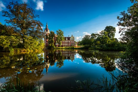 Schloss Muskau, palace, Schloss, Gerlits, Saxony, Germany, Park Muskau