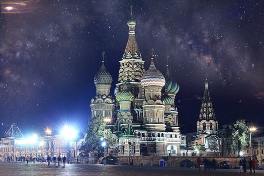 St. Basil's Cathedral, St Basil's Church, Moscow, Russia