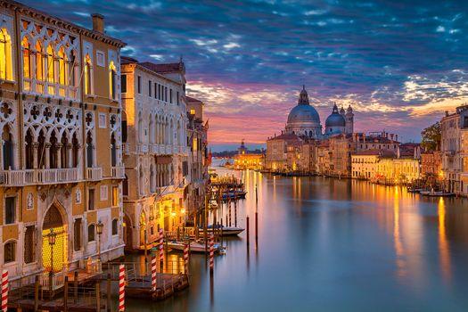 Grand Canal, Venice, Italy, The Grand canal, Venetia, Italy