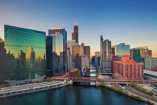 Chicago, USA, city