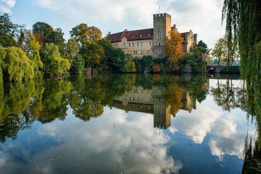 Germany, Saxony-Anhalt, Water Castle Flechtingen