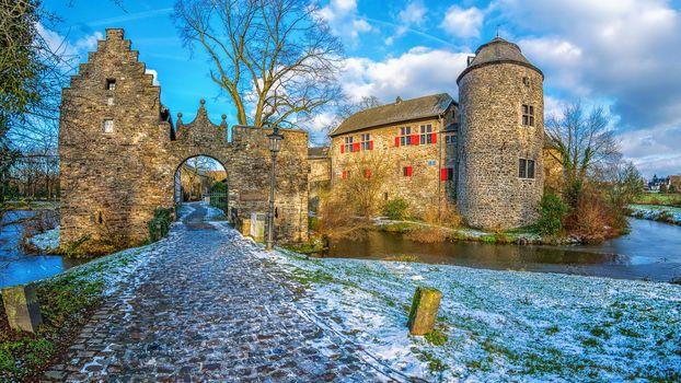Ratingen, Germany, Castle