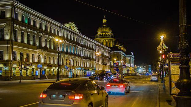 Admiralteysky prospect, Saint-Petersburg