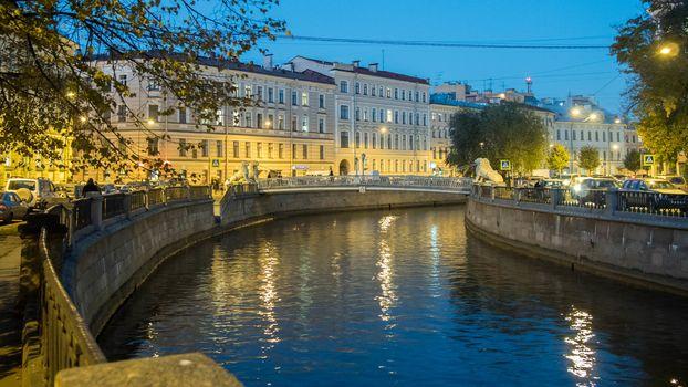 Griboedov channel, Saint-Petersburg