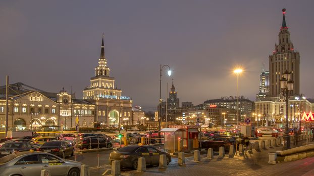 Kazansky railway terminal, Moscow