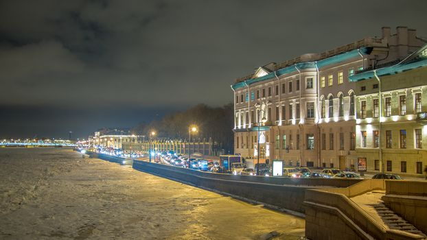 Kutuzova embankment, St. Petersburg