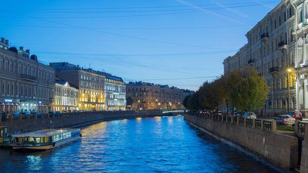 River Moika, St. Petersburg