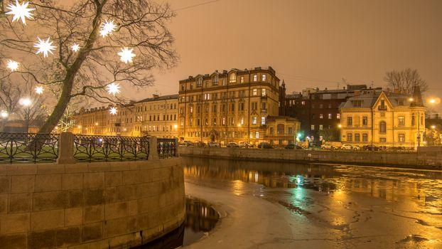 Moyka river, St. Petersburg