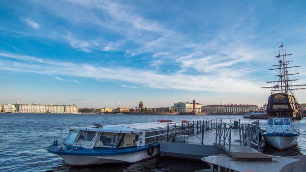 Neva river, Saint-Petersburg