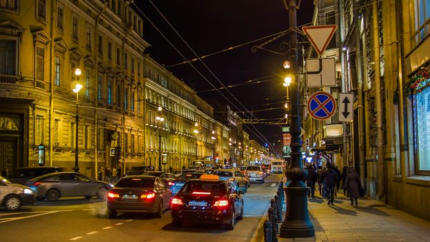 Nevsky prospect, Saint-Petersburg
