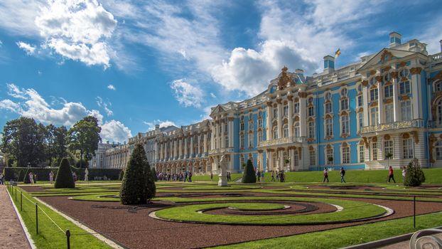 The Catherine palace, Tsarskoye Selo, St Petersburg