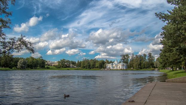 The Catherine Park, Tsarskoye Selo, St Petersburg
