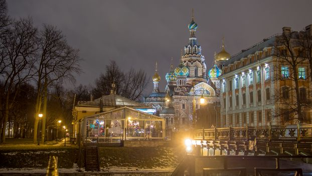 The Church of the Savior on Spilled Blood, St. Petersburgh