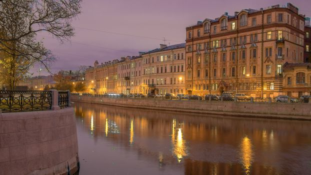 The Moyka River, St Petersburg
