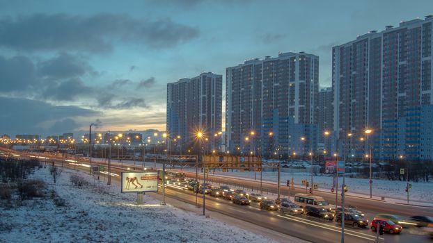 Vitebskiy prospect, St. Petersburg