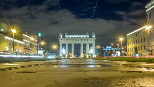 The Moscow Triumphal Gates, St. Petersburg