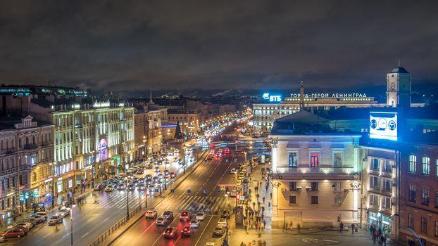 Ploschad Vosstaniya, St. Petersburg