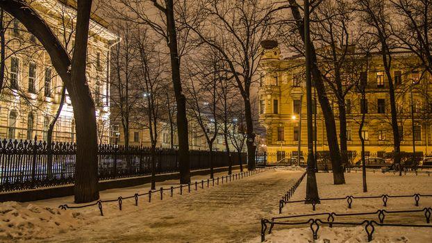 Rumyantsevsky garden, St. Petersburg