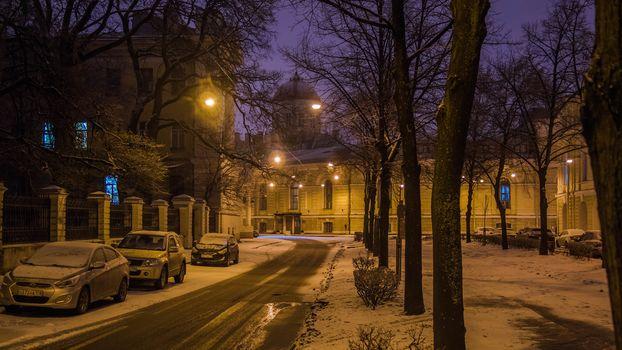 Tiflisskaja uliцa, St. Petersburg