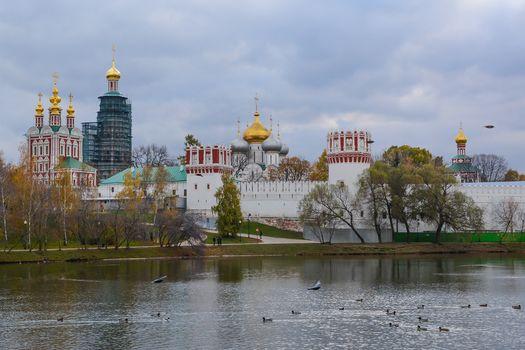Moscow, Theotokos-Smolensk Novodevichy Convent, Russia