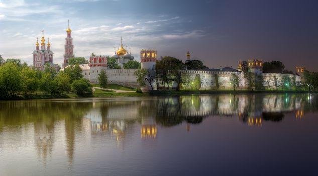 Novodevichy convent, Theotokos-Smolensky Monastery, Moscow, Russia