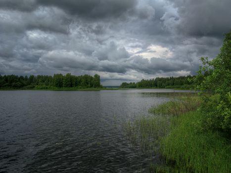 Lake Vselug, Tver region, Russia