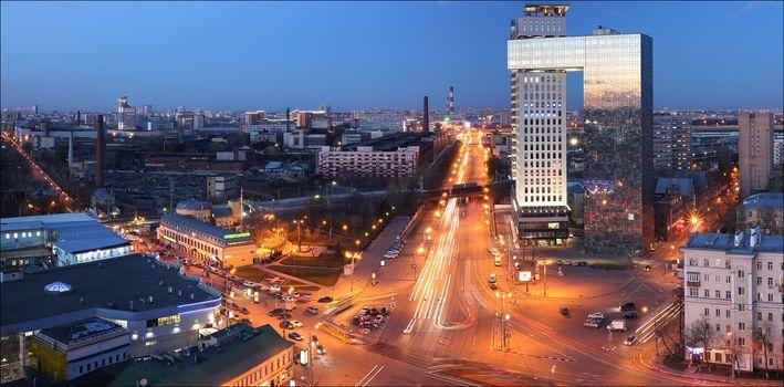 Moscow, Square Rogozhskaya outpost, Russia