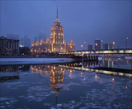 Hotel Radisson Royal Hotel, Moscow, Russia