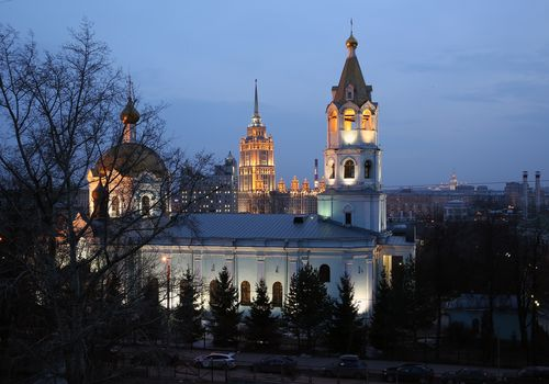 Church of St. Nicholas in the Three Hills, Moscow, Russia